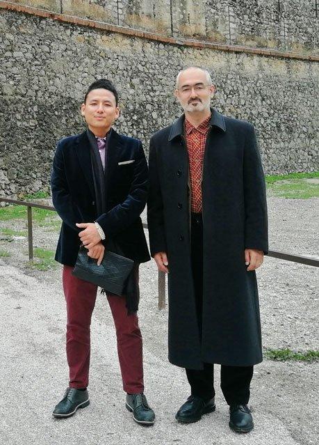 Gomo Rinpoche and Shenpen Rinpoche